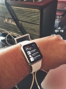 Watch üzerinden iPhone kütüphanesi tarayabiliyorsunuz.