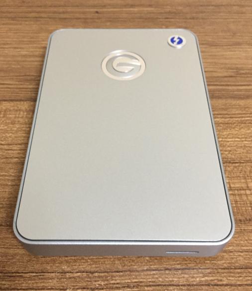 G-Drive Mobile w/ Thunderbolt