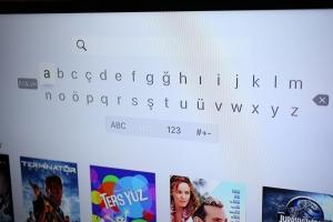 Apple TV Arama Ekranı